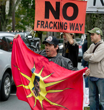 first nation no fracking way
