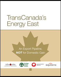 TransCanada Energy East-Cover