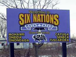 Six Nations sign