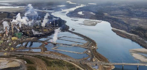 Tar Sands and River