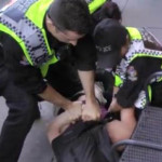Vancouver cops beat demonstrator
